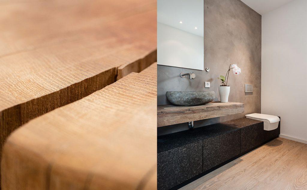 Unsere Materialien machen Räume lebendig.